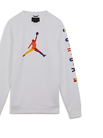 2b6e5e7bea57c Nike SWEAT JORDAN DNA FLEECE JORDAN BLANC XL HOMME JORDAN BLANC XL HOMME