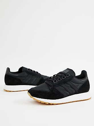 official photos 5d9a8 ff88c adidas Originals Zapatillas de deporte negras Forest Grove de adidas  Originals