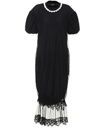 Simone Rocha Embellished tulle midi dress