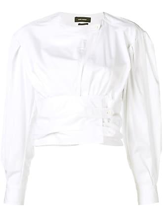 Isabel Marant corset-waist shirt - Branco