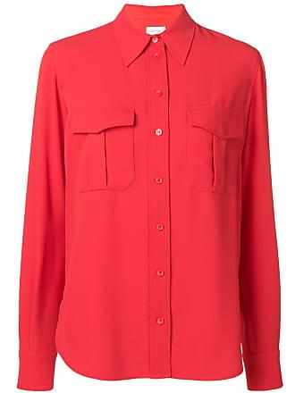Calvin Klein chest pocket shirt - Red