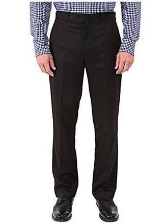 Perry Ellis Mens Portfolio Modern Fit Performance Pant, Black, 30x29