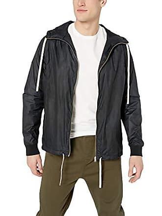 Zanerobe Mens Storm Spray Jacket, Scratched Black, Large