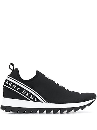 DKNY logo sneakers - Black