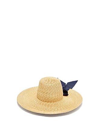 1a3ca4beb Lola Hats Incognito Natural Raffia Hat - Womens - Navy