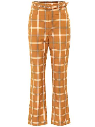 Jonathan Simkhai Checked cotton-blend pants