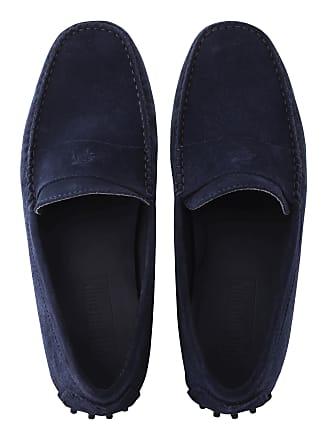 Vilebrequin Men Accessories - Men Very soft Daim Loafers Solid - SHOES - JOHN - Blue - 44 - Vilebrequin