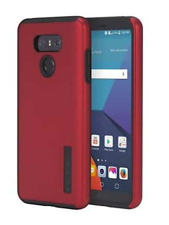 Incipio DualPro Series Dual Layer Case Cover for LG G6 - Matte Dark Red / Black