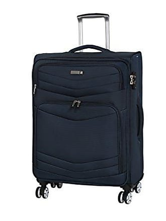IT Luggage Intrepid 26.6 8 Wheel Spinner, Dress Blues
