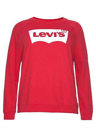 940dc5807445 Levi s Plus Levis Plus Sweatshirt »Plus Relaxed Graphic Crew Batwing«
