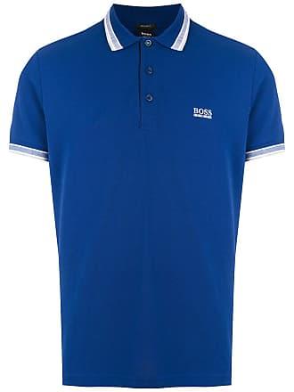 HUGO BOSS Camisa polo com logo - 430