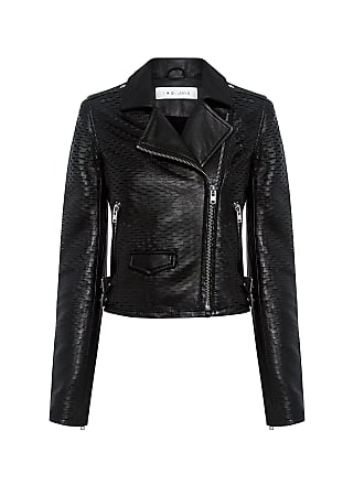 Iro Memphis Leather Biker Jacket Black