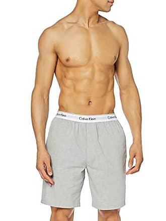f754b4036628f Calvin Klein Sleep Short Bas De Pyjama, Gris (Heather Grey 080), Small