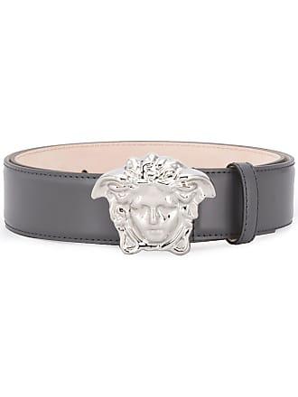 Versace Medusa head belt - Grey