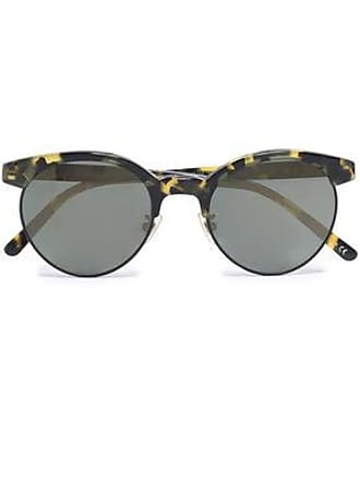55b738fc5ec44 Oliver Peoples Oliver Peoples Woman D-frame Acetate And Gold-tone Sunglasses  Black Size