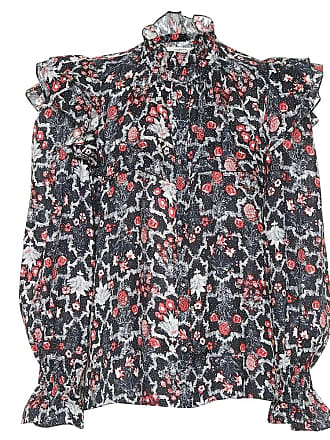 Isabel Marant Printed linen blouse