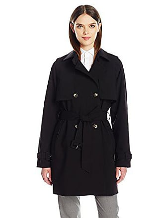 e8e1ca8c60c3 Calvin Klein Womens Rain Trench Jacket with Belt