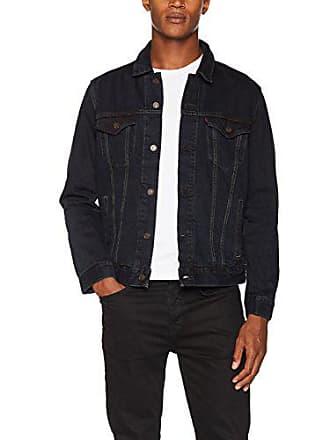 b8492a27a337 Vestes En Jean pour Hommes en Noir − Maintenant   jusqu  à −62 ...