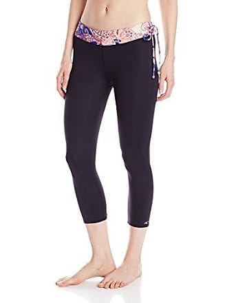 O'Neill Womens Juniors Camarillo Capri Surf Legging, Black, X-Large