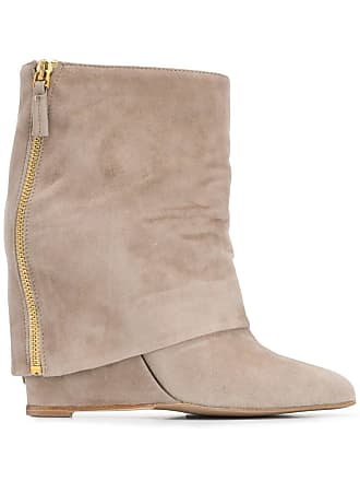 The Seller foldover flap boot - Neutro