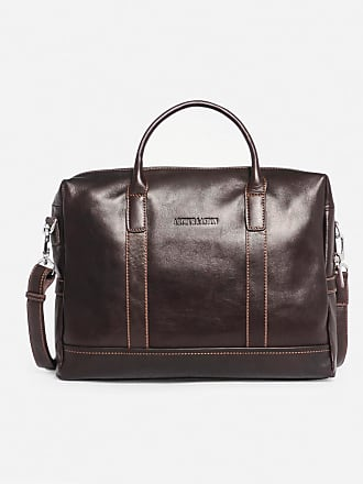 Arthur Aston Sac porte-document en cuir Marron Arthur Et Aston a2eae659f069
