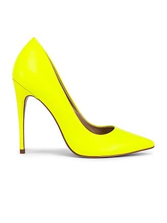 Steve Madden Daisie Heel in Yellow