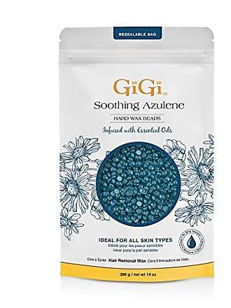 Gigi 0313 Soothing Azulene Hard Wax Beads, Blue, 14 Ounce