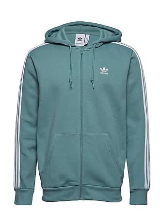 f8b96b1df004 adidas 3-Stripes Fz Sweat-shirts & Hoodies Zip Throughs Blå ADIDAS ORIGINALS