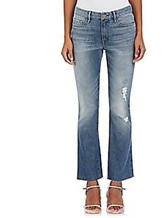 Frame Denim Womens Le Mini Boot Distressed Jeans - Lt. Blue Size 29