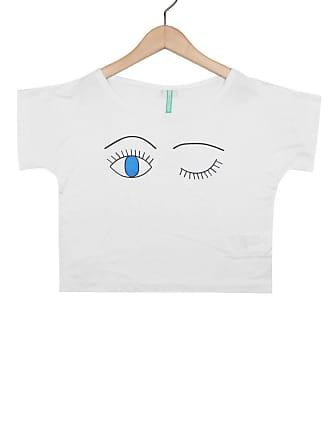 Bisi Blusa Bisi Eyes Branco