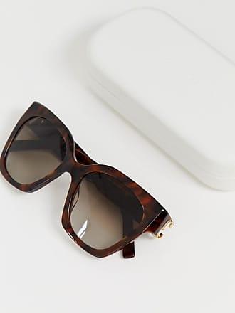 323efcd9403 Marc Jacobs oversized cat eye sunglasses in tort - Brown