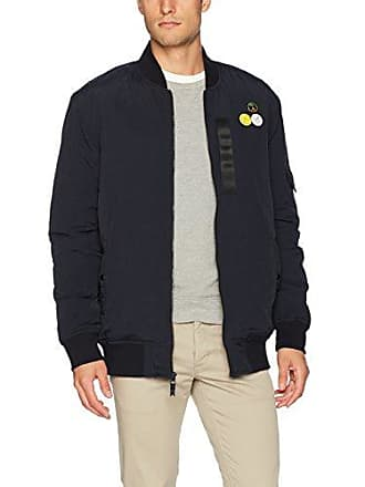 Quiksilver Mens Trestles Army Bomber Jacket, Black, Large