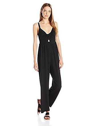 Only Hearts Womens Picnic Club Beek a Boo Jumpsuit, Black Large