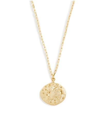 Shashi Unicorn Coin Necklace
