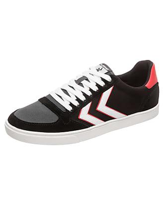 8dbcab47f74bc6 Hummel Sneaker Slimmer Stadil hellrot   schwarz   weiß