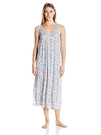 d9154a1a1330 Aria Womens Rayon Spandex Jersey Maxi Gown, White/Navy Scroll, XL. USD  $64.60