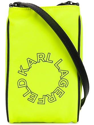 Karl Lagerfeld Bolsa transversal mini - Amarelo