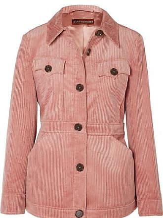 AlexaChung Cotton-blend Corduroy Jacket - Pink