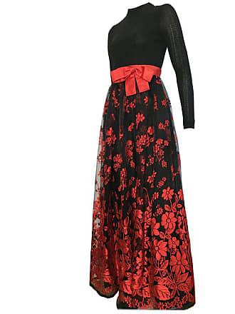 08db01cf901 1stdibs Huey Waltzer 1970s Black Long Sleeve Maxi Evening Dress Size 4