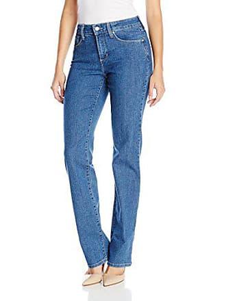 NYDJ Womens Marilyn Straight Leg Denim Jeans, Monrovia, 10
