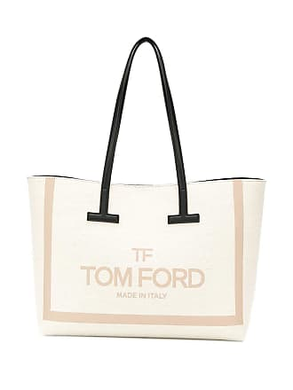 Tom Ford logo print shopper - Neutrals