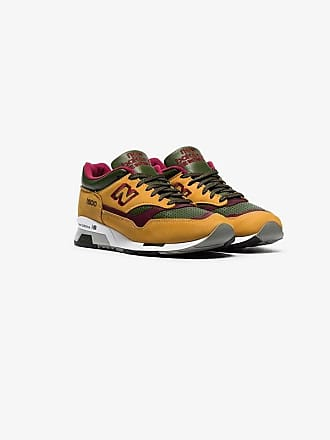 New Balance yellow green and purple M1500 trainers 872bd1819ff