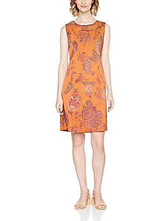 3385184922dfa4 Derhy ANTILLAIGAN Vestito Elegante, Arancione, 14 Donna