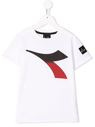 Diadora Camiseta com estampa de logo - Branco