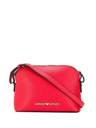 Emporio Armani red mini shoulder bag