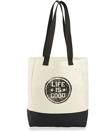Life is good LIG Star Coin Market Tote OS Natural