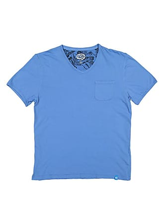 Panareha MOJITO v-neck t-shirt blue