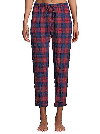 Xirena Jordyn Plaid Cotton Lounge Pants