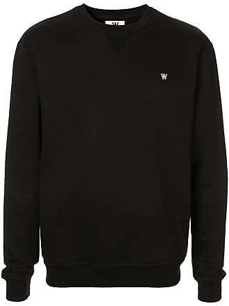 Wood Wood Suéter de tricô com logo - Preto