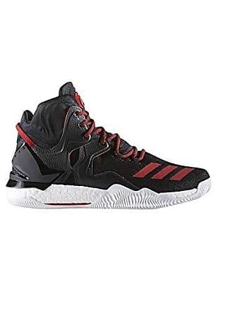 the latest 66f43 27ade adidas Derrick Rose 7, Chaussures de Basketball Mixte Enfant, Noir Schwarz,  36 2